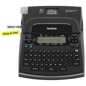 New Brother P touch Label Machine Deluxe Home Office Labeler