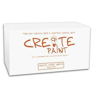 Create Paint Cpw2q Dry Erase Whiteboard White Paint 2 Quarts