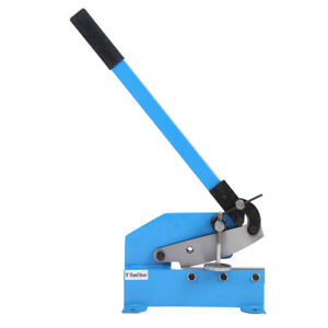 Manual Metal Sheet Cutter 1 4 Thick Hand Lever Shear rebar round Stock Cutter