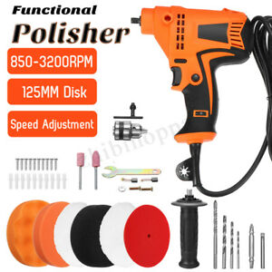 220v 980w Car Waxing Polishing Machine Scratch Remover Glossy Polisher Set