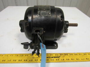 Peerless 1 2hp 1750rpm 3ph 220 440v 60hz 3 4 Shaft Electric Ac Motor