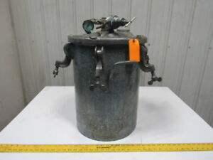 10 Gallon Galvanized Steel Pressure Pot Feed Tank