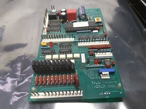 Royal Vendors Vending Machine Control Board Merlin 2000 Rev 2 05 Sale Used 199