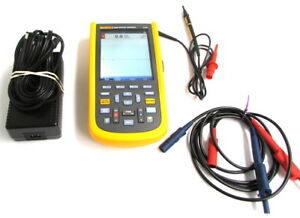 Fluke 124b Industrial Scopemeter Test Tool 40mhz Scope Meter And Recorder
