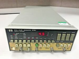 Agilent Hp Keysight 8112a Pulse Generator With Z540 Calibration With Data