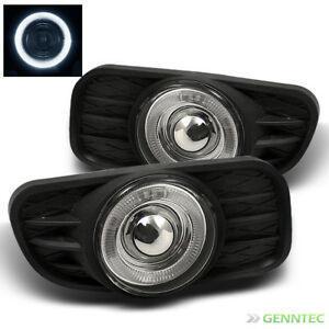 For 99 04 Jeep Grand Cherokee Halo Projector Fog Light Switch Bulb Harness