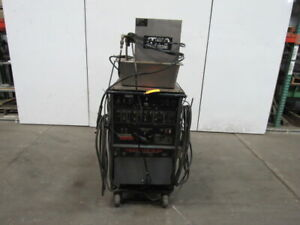 Lincoln Square Wave Tig 300 System Arc Welder W cooling
