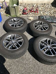 2018 Jeep Grand Cherokee Premium Alloy Oem Rims And Tires Wheels
