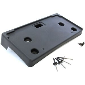 2011 2014 Fits Chevy Cruze Front License Plate Tag Black Bracket Holder With Hw