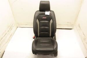 Fr Lh Driver Black Leather Bucket Seat Electric Fits 16 17 Chevrolet Camaro Oem