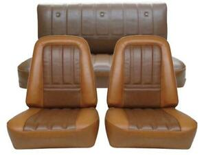 Chevy K5 Blazer Seat Upholstery For Front Buckets And Rear 1973 1975