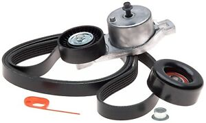 For Chrysler Town country Dodge Serpentine Belt Drive Component Kit Ack060822