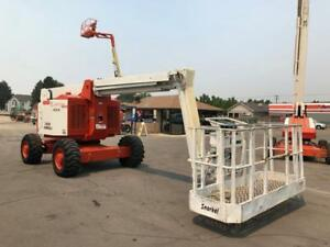 Aerial Telescopic Boom Lift Snorkel 4x4 60 Articulated Diesel Jib Manlift