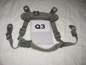 OPS-CORE ACHECH HELMET REPLACEMENT CHIN STRAP FOLIAGE SMALL USED Q3