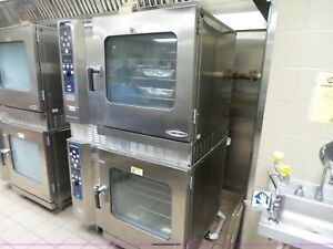 Alto Shaam 7 14 Mlg Combitherm Natural Gas Double Stack Oven