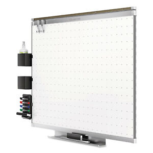 Quartet Prestige 2 Connects Total Erase Whiteboard Aluminum Frame