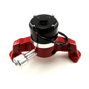 Chevy Bbc 454 35 Gpm Electric Water Pump Red