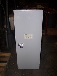 Asco 225 Amp Automatic Transfer Switch 480 Vac 3 Phase A300322591c