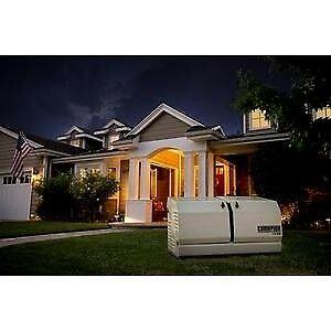 Champion 14 kw Home Standby Generator With 100 amp Indoor rated Automatic