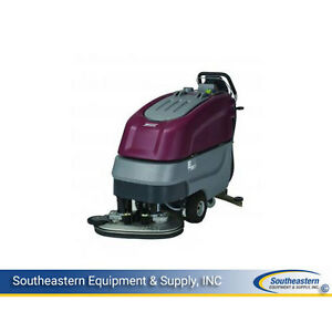 New Minuteman E26 Disc Brush Automatic Scrubber Quick Pack Agm Batteries