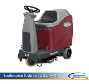 New Minuteman Max Ride 20 Disc Brush Automatic Scrubber Sport Agm Batteries