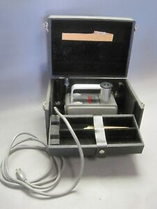 Vintage Victoreen R meter W Original Case Parts Radiation Gamma Ray Detector