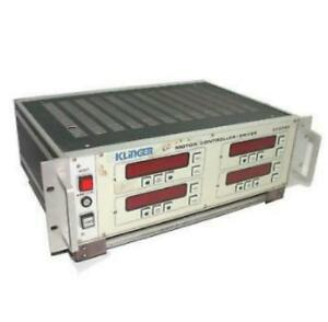 Klinger Dsc750 Motor Controller Driver 4 Axes W Display Sold As Is