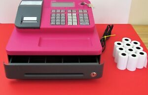Casio Se g1sc Electronic Cash Register Pre owned Works With Keys