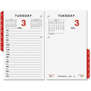 At A Glance Aage01750 17 Style Daily Desk Calendar Refill