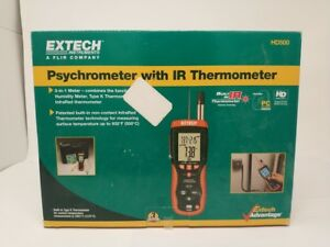 Extech Hd500 Relative Humidity Meter W Ir Thermometer