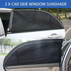 2 Pack Auto Sun Shade Window Screen Cover Sunshade Protector For Car Auto Truck