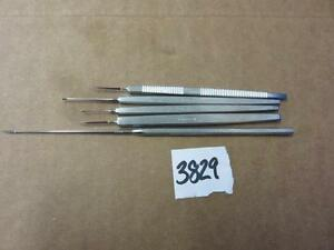 Storz Ophthalmic Surgical Knife Blade Scalpels Lot Of 5