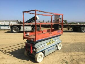 2003 Skyjack Sj3220 Scissor Lift Scissorlift 20 Ft Reach 800 Lb stock 2399