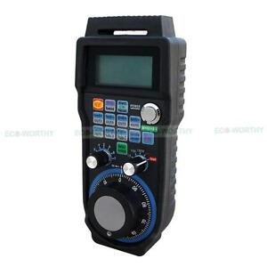Cnc 6 Axis Usb Wireless Mach3 Mpg Handwheel Controller 64 Channel For Industry