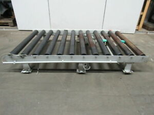 Heavy Duty Power Roller Pallet Case Conveyor 94 3 4 X 53 No Motor