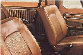 Bronco Seat Upholstery For Low Back Front Buckets 1978 1986