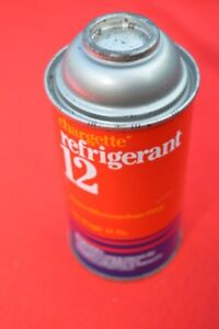 Chargette R12 R 12 Refrigerant Freon Ac One 12oz Can Usa Made Unused Can Mopar