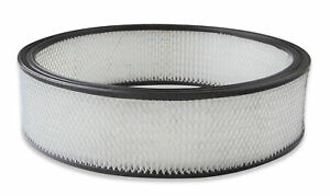 Holley 220 45 Air Filter Replacement 16 X 4 White Paper Filter