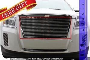 Gtg 2010 2015 Gmc Terrain 1pc Polished Custom Upper Insert Billet Grille Grill