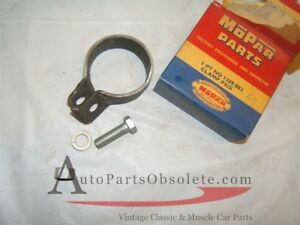 1951 57 Plymouth Desoto Chrysler Exhaust Pipe Clamp Nos 1325982