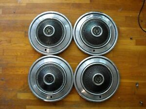 1974 Ford Ltd 15 Hub Caps Galaxie Torino Ranchero F100 1973 1975 1976 1977