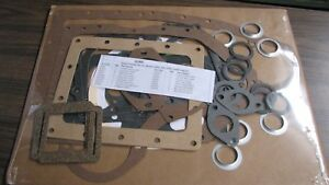 Complete Wisconsin Engine Gasket Set Q18d For The Vg4d Vp4d Read Ad
