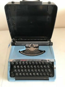 Vintage Brother Charger 11 Correction Typewriter Portable W Cover Tested Works