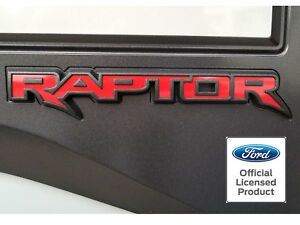 2017 Ford Raptor Tailgate Emblem Inlay Vinyl Decal Stickers Panel Applique 2018