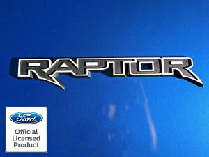 2018 Ford Raptor Tailgate Emblem Overlay Vinyl Decal Stickers Panel Outlines