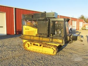 2005 Rayco Rg60 Dozer Steep Ground Track Fuel air Compressor Mechanics Service