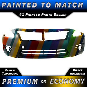 Painted To Match Front Bumper Cover Exact Fit For 2013 2015 Nissan Altima 4door