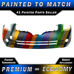 New Painted To Match Front Bumper Fascia Exact Fit For 2007 2009 Nissan Altima