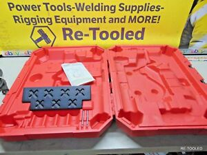 Milwaukee 4272 21 1 5 8 In Electromagnetic Drill Storage Case Tool Box Only