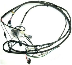 70 72 Chevy Truck Front Light Wiring Harness All With Warning Lights New